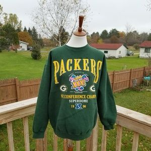 Vintage 1996 Green Bay Packers Sweatshirt